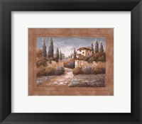 Framed Tuscan Blue II