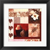 Vase Collage II Framed Print