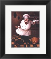 Framed Halloween Chef II