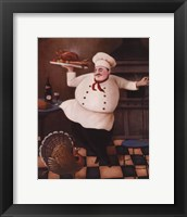 Framed Turkey Chef II
