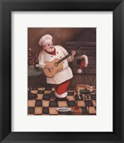 Christmas Chef I Framed Print