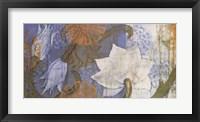 Saffron & Sky I Framed Print