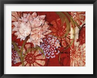 Crimson Malay I Framed Print