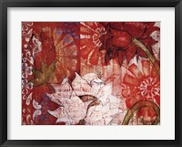 Crimson Malay II Framed Print