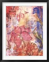 Mandarin Garden II Framed Print