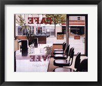 Framed Popular Caf