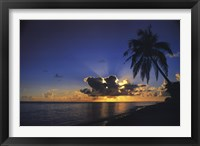 Framed Sunrise Paradise