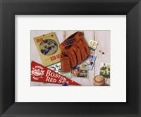 Framed Vintage Red Sox