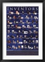 Framed Famous Inventors