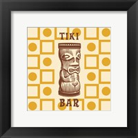 Framed Tiki Bar