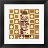 Framed Tiki Bamboo