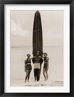 Framed Tom with Kalahuewehe, 1937
