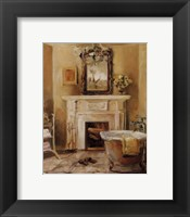 French Bath IV Framed Print