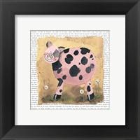 Framed Spot the Pig