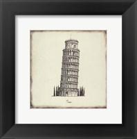 Framed Pisa Tile