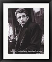 Framed James Dean (Live As If)