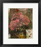 Framed Classic Rose II