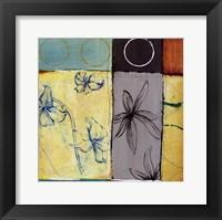 Framed Flower V