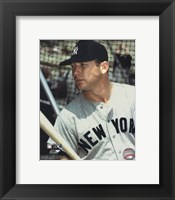 Framed Mickey Mantle