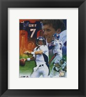 Framed John Elway - Legends of the Game Composite