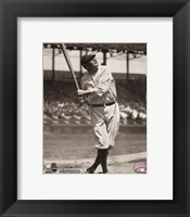 Framed Babe Ruth