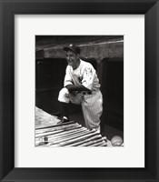 Framed Lou Gehrig
