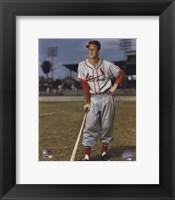 Framed Stan Musial