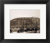 Framed Yankee Stadium  (outside)