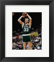 Framed Larry Bird