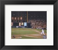 Framed Cal Ripken Jr. 2131 Game #6