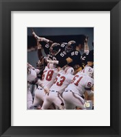 Framed Lambert / Holmes / Greenwood - (Steel Curtain)