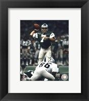 Framed Ron Jaworski - Prepare to pass