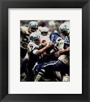 Framed Bob Lilly - Defense