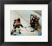 Framed Phil & Tony Esposito - Action
