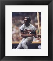 Framed Frank Robinson - Batting