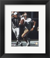Framed Joe Montana - #7 Scramble