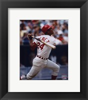 Framed Tony Perez - Batting