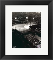 Framed Forbes Field - Night Shot