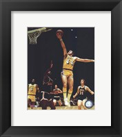 Framed Jerry West - Action