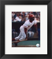 Framed Joe Morgan - Batting