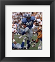 Framed Barry Sanders - Action