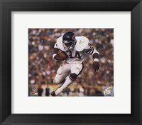Framed Walter Payton - Airbound