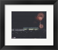 Framed Veterans Stadium - Nightshot, with fireworks