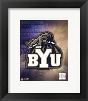Framed Brigham Young University Logo