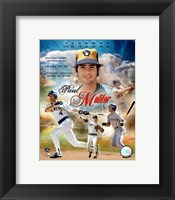 Framed Paul Molitor-CAREER/LEGENDS COMP