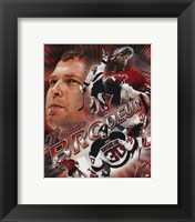 Framed Martin Brodeur - Portrait Plus 2004