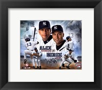 Framed A.Rodriguez/D.Jeter - Portrait Plus
