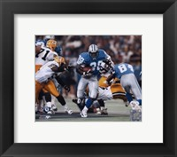 Framed Barry Sanders - Game Action