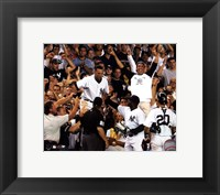 Framed Derek Jeter - '04 Catch In Stands