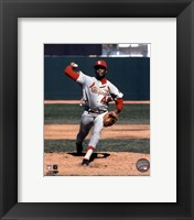 Framed Bob Gibson - Pitching Action